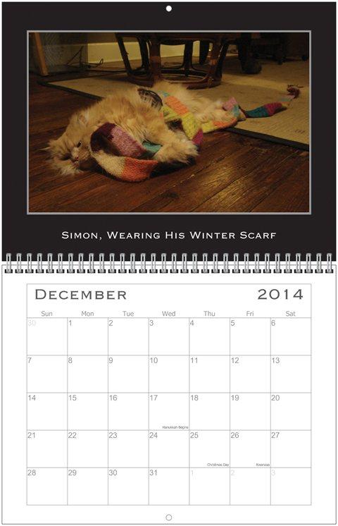 Simon Calendar Dec.