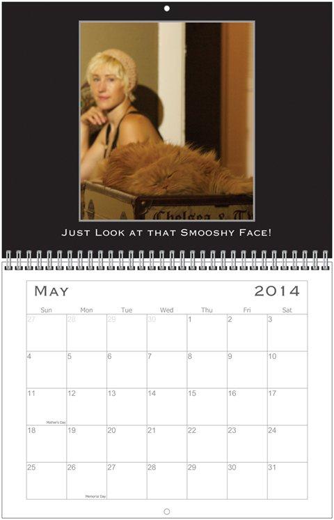 Simon Calendar May