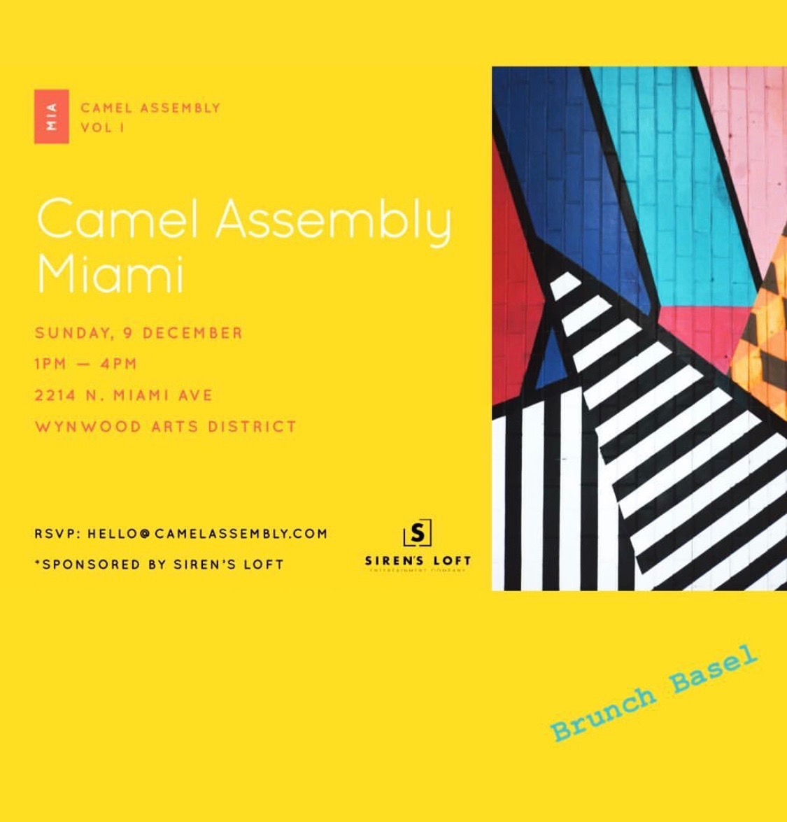 An international community of creative, female leaders focused on change. Read more about becoming a part of the Camel Assembly community  HERE .