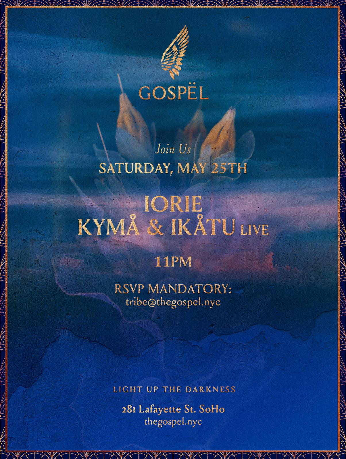 kyma & ikatu live at gospel soho