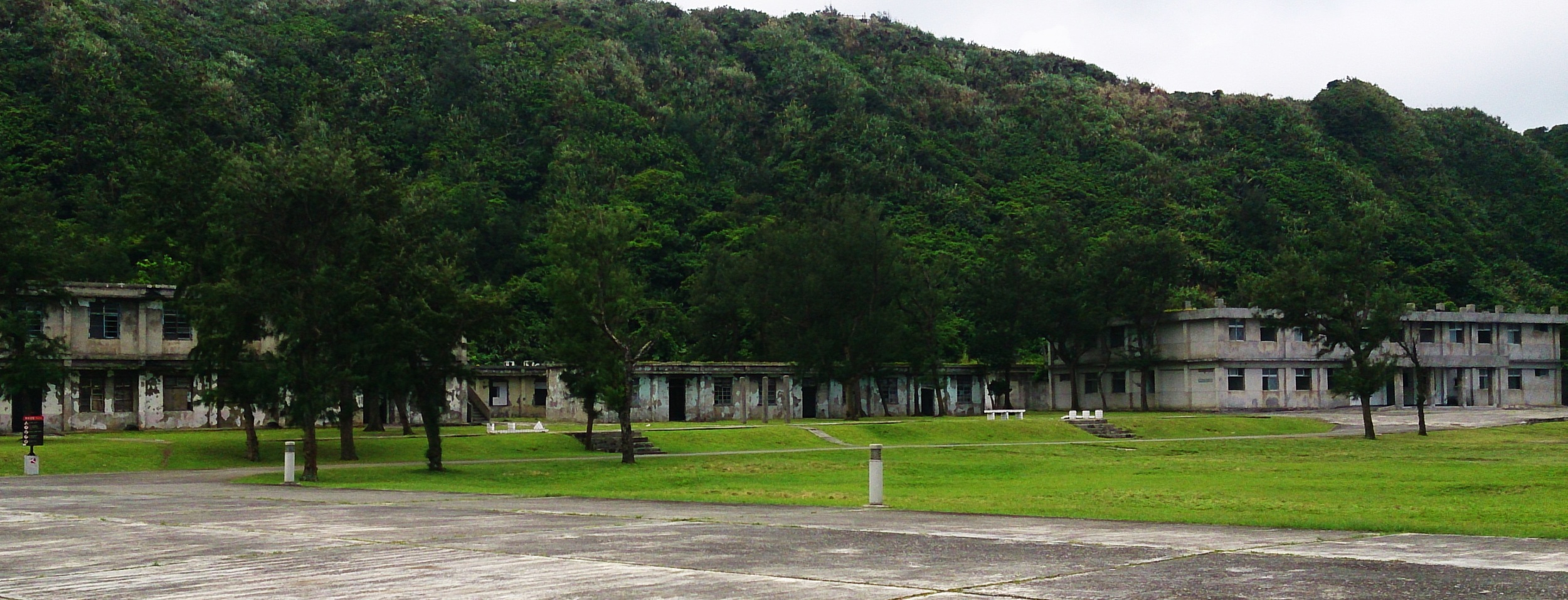 The buildings near the New Life Camp