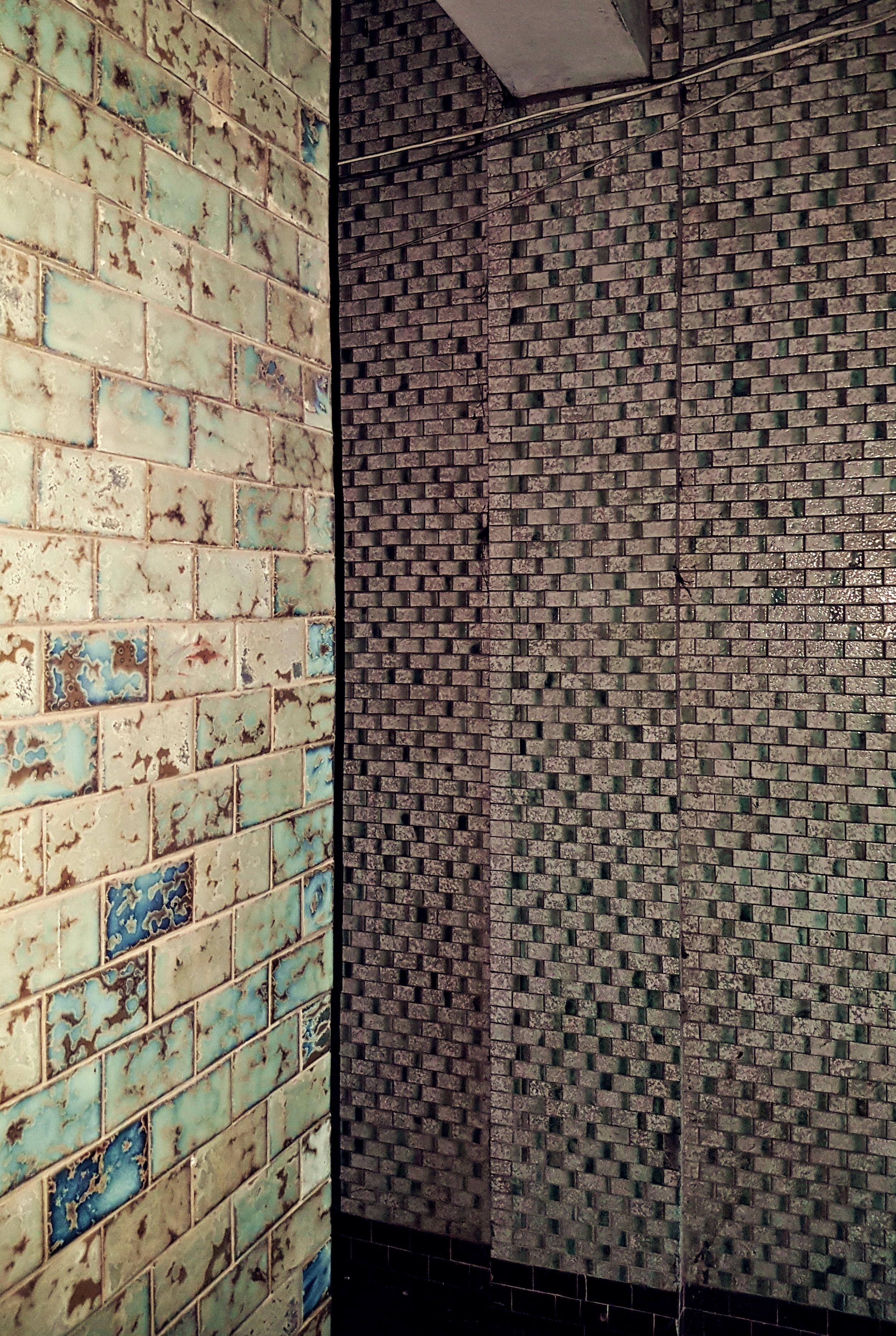 Institutional tiling in the dark interior