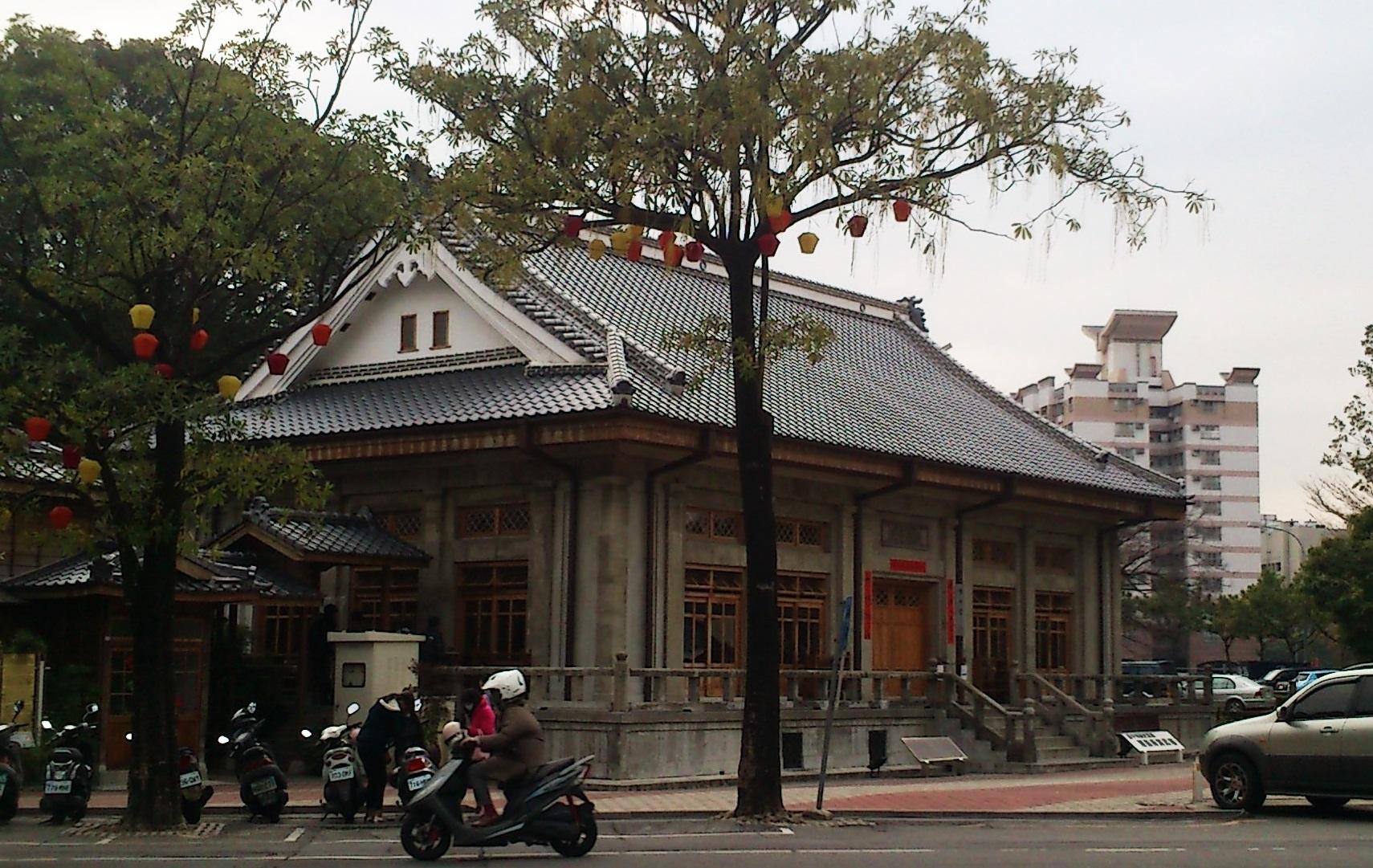 The grand Taichung Butokuden