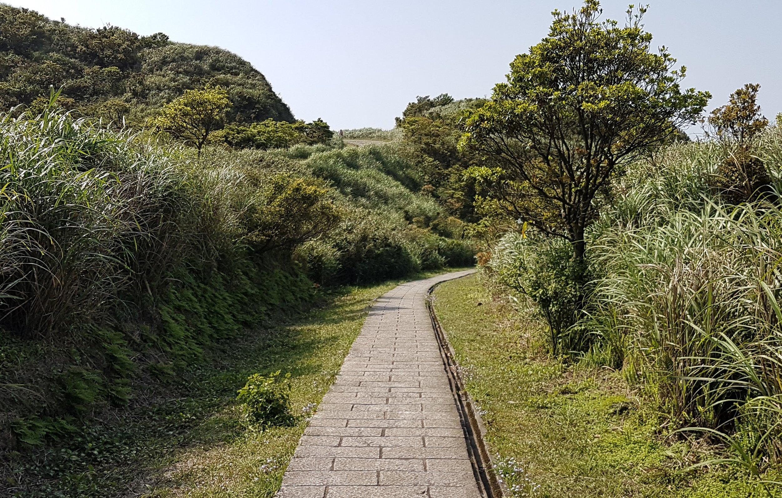 The path down to Jinguashi