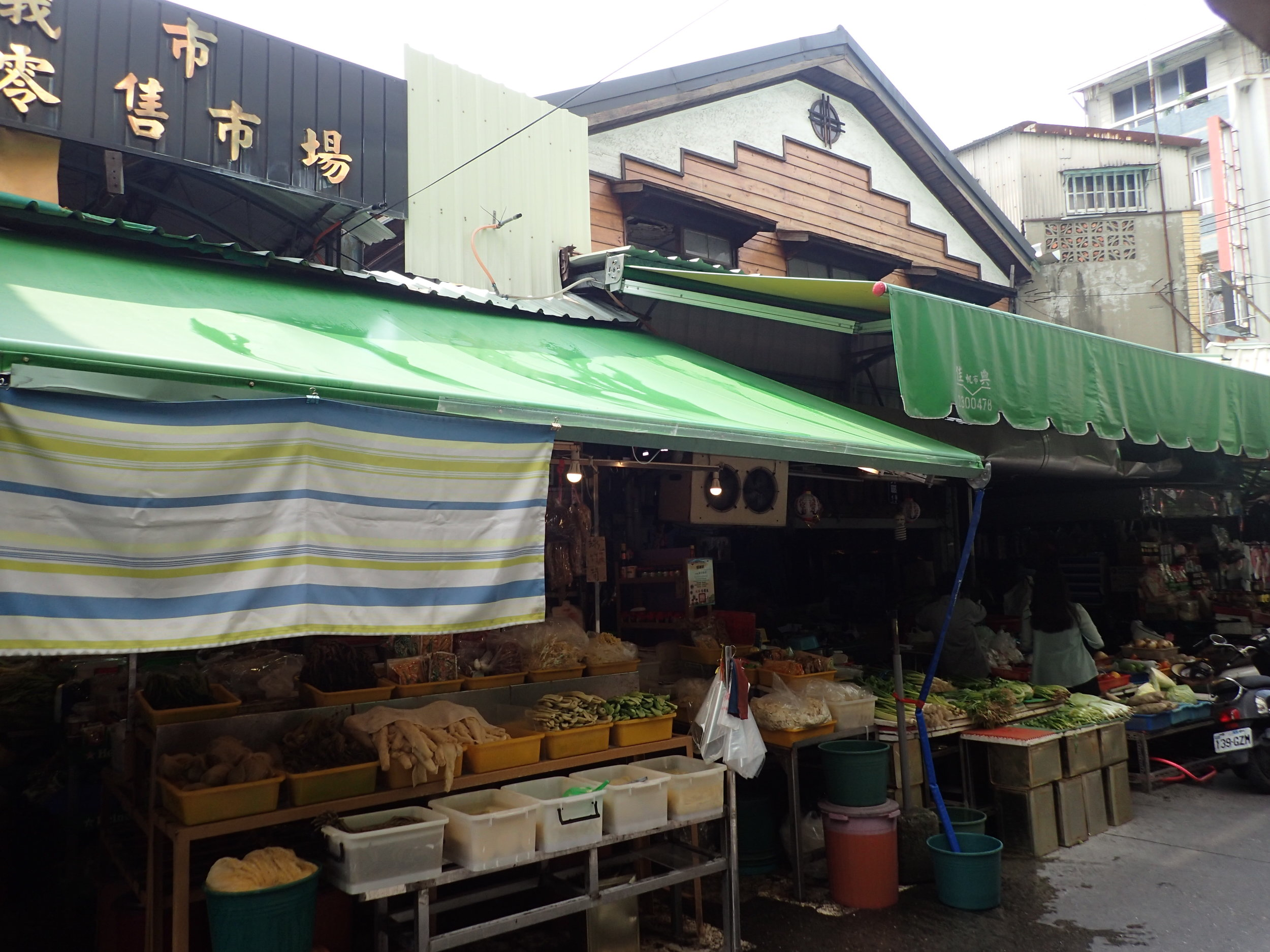 Chiayi's Dongmen Market