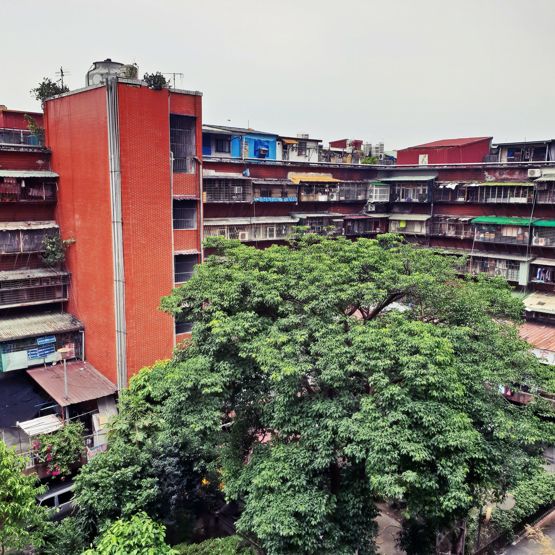 The Nanjichang Big Block has a nice central garden