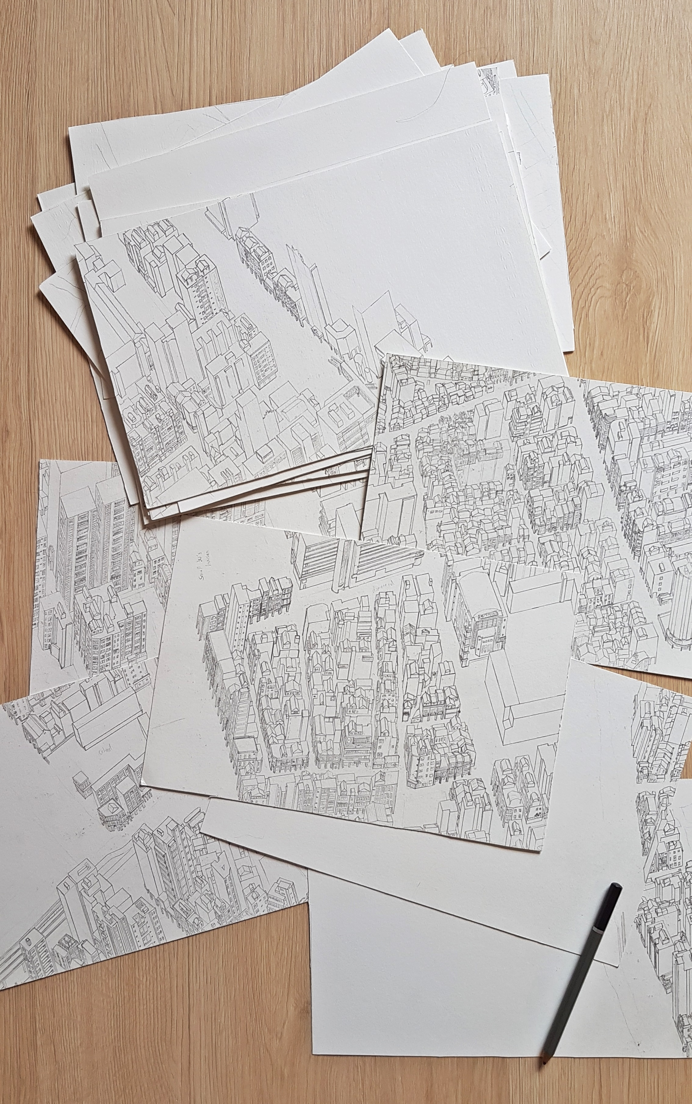 The Dalongdong Map. Despite the image it's mostly blank.One of the few projects that I've abandoned for a while. From back when I had a tiny desk and drew on small panels