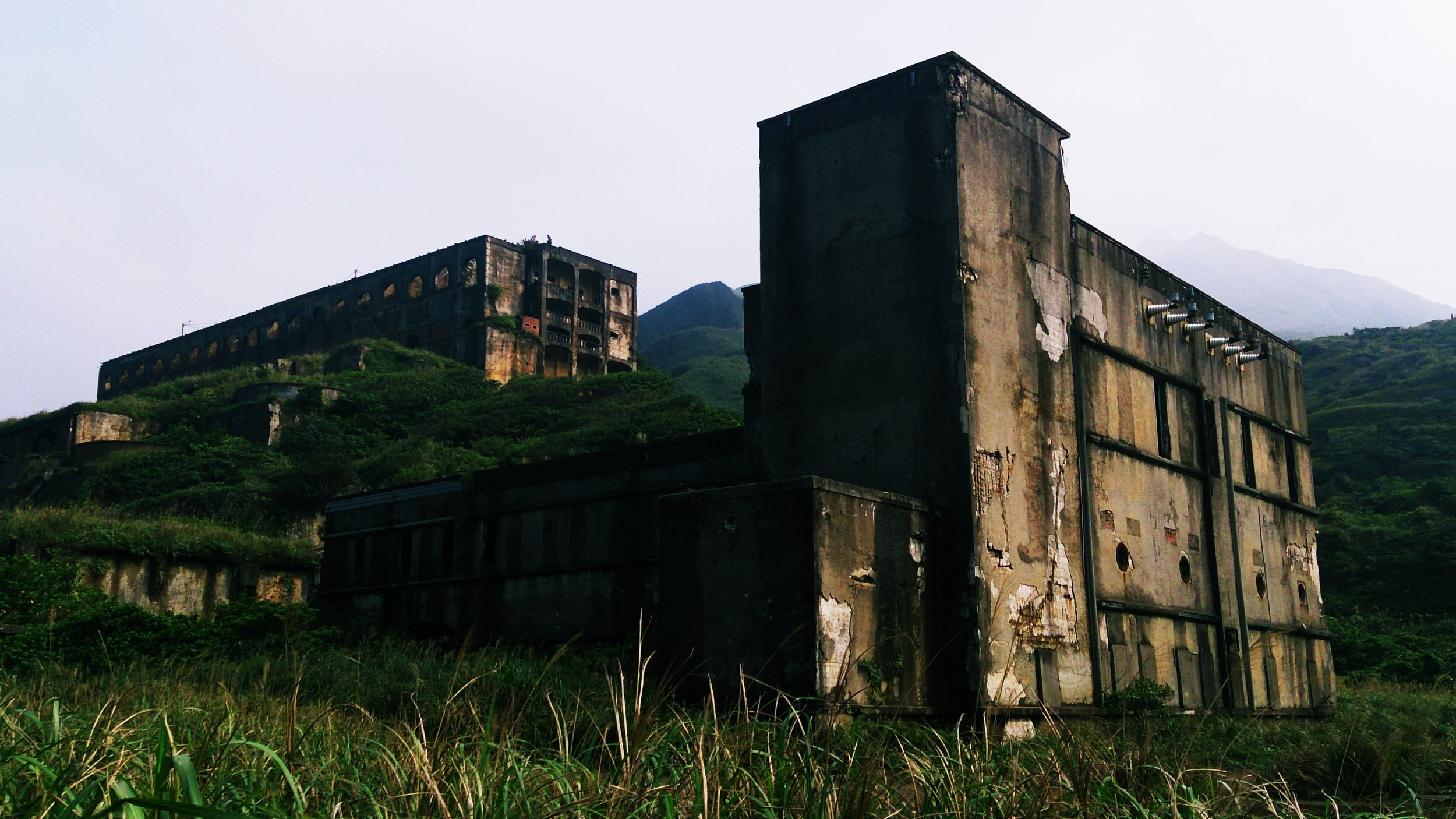 The ruins of Shuinandong Smelter  which I explored and wrote about here