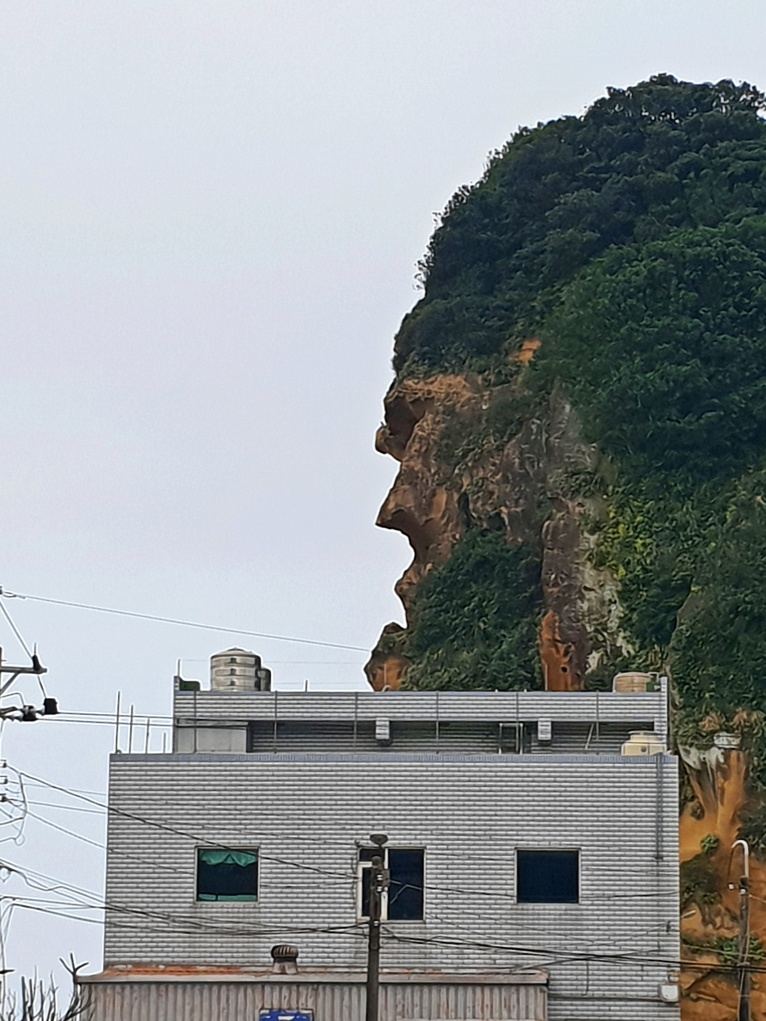 This is known as Indian Chief Rock