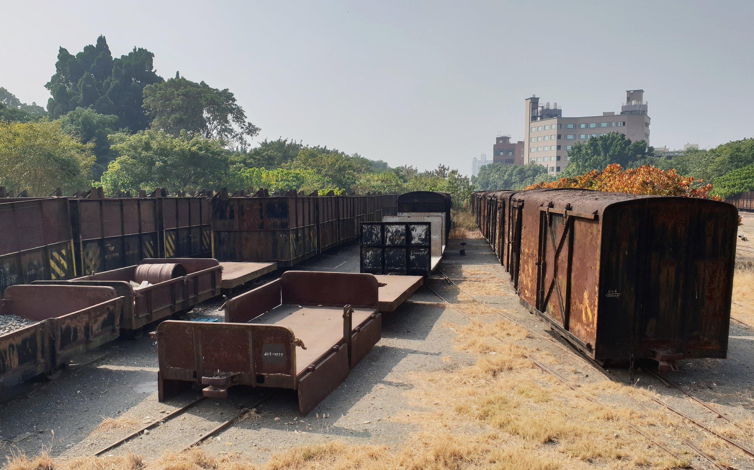 Abandoned railcarts