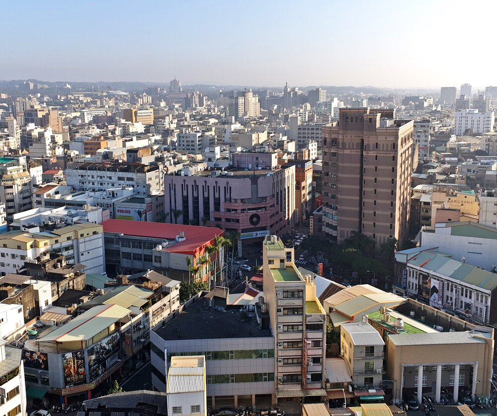 View from one of the tallest buildings in Changhua