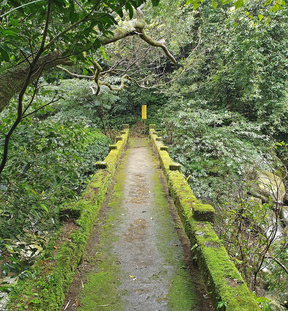 One of the bridges on the Neishuan Creek