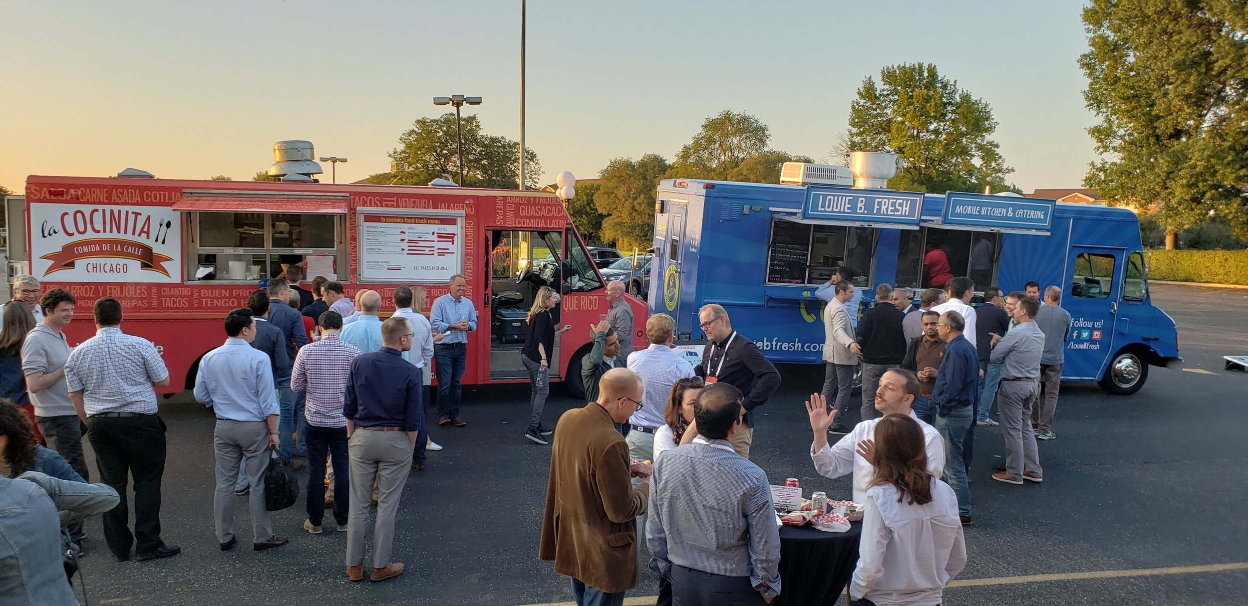 Corporate Summer Food Truck Party 2018