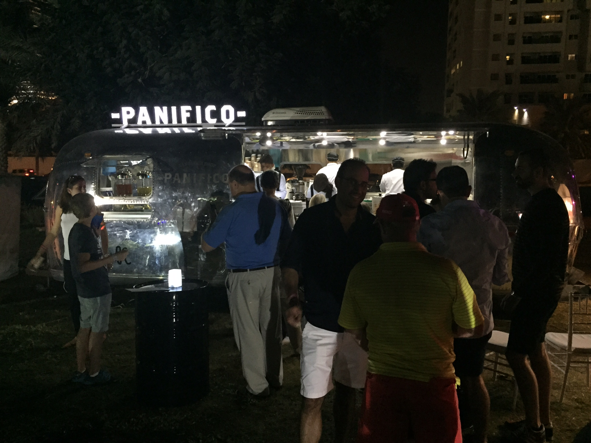 Spreading the love around Dubai.  The Panifico Food Truck is fully operational and people love it!
