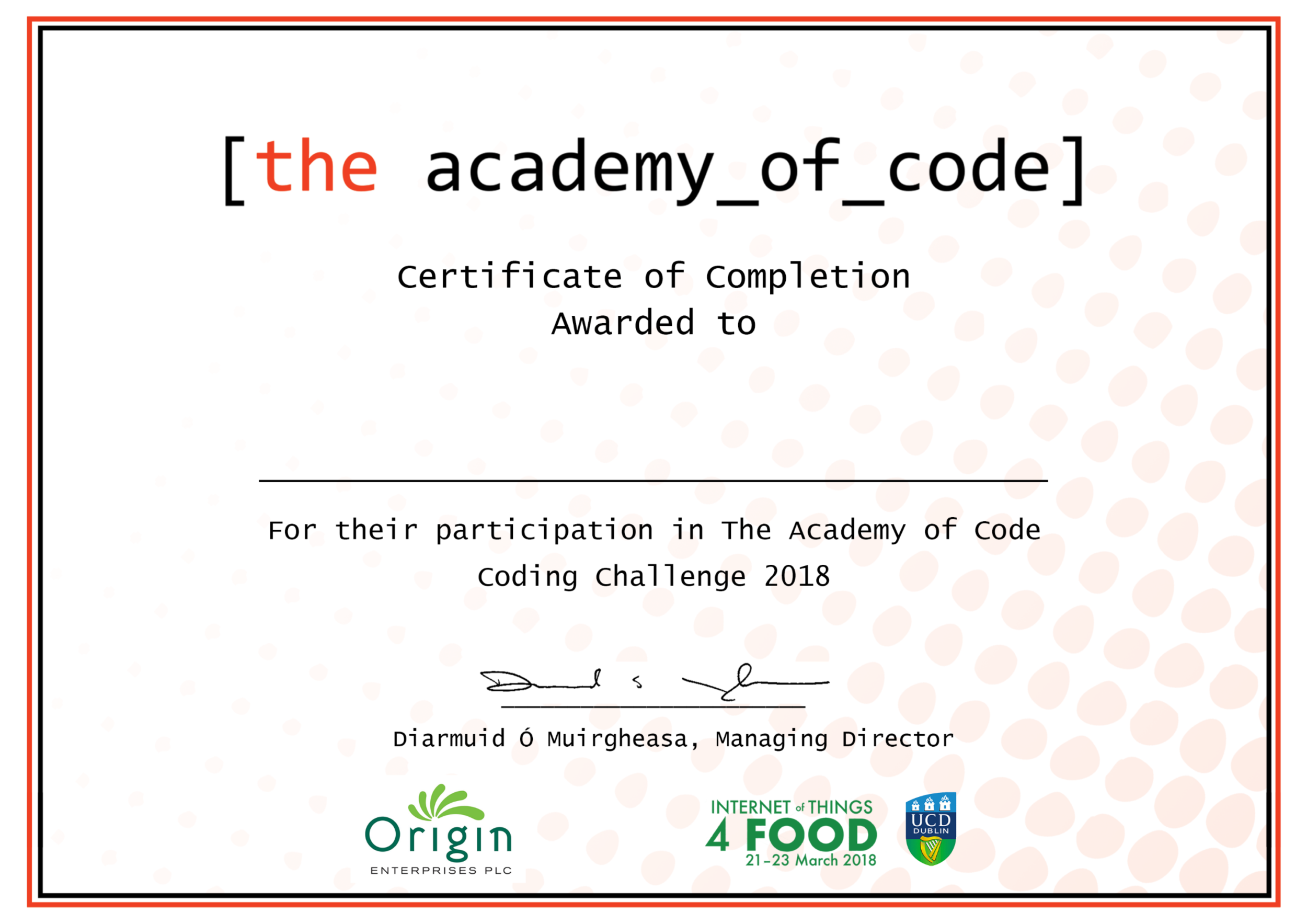 Blog — The Academy of Code