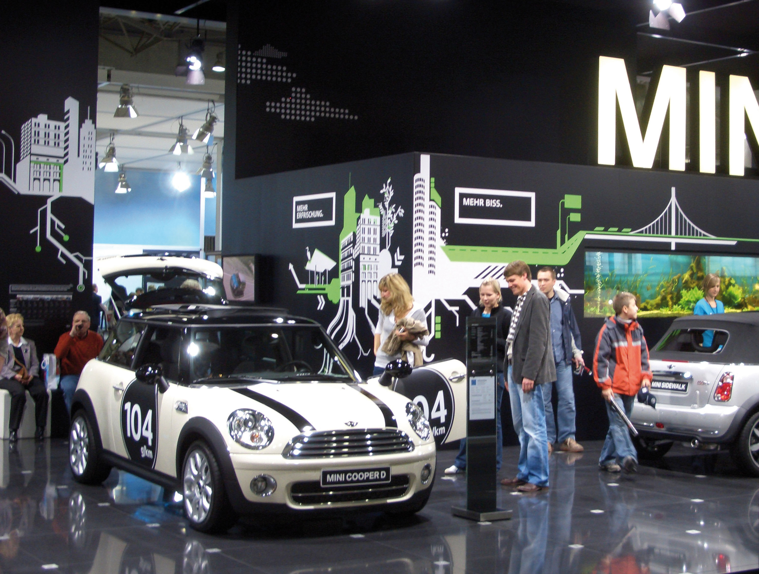 Mini Cooper BMW | Plantage Berlin