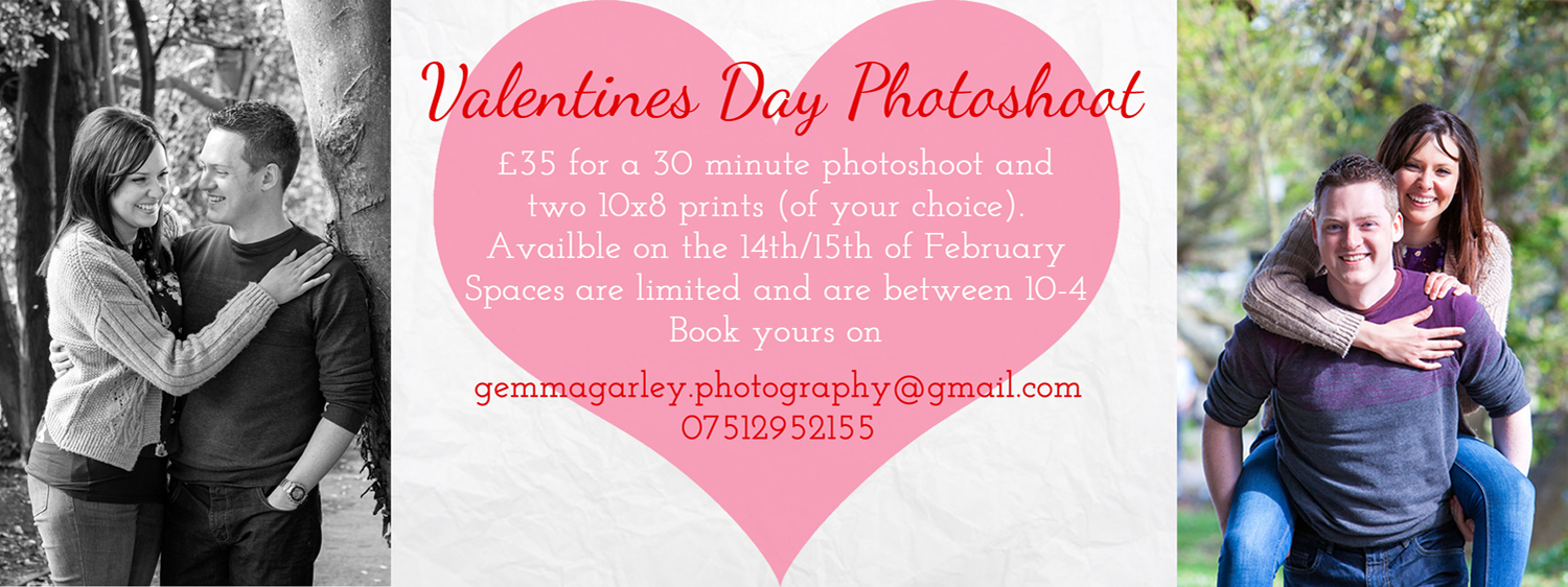 Valentines Photography shoot Bournemouth