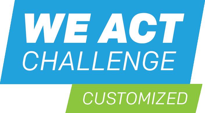 we act challenge customized