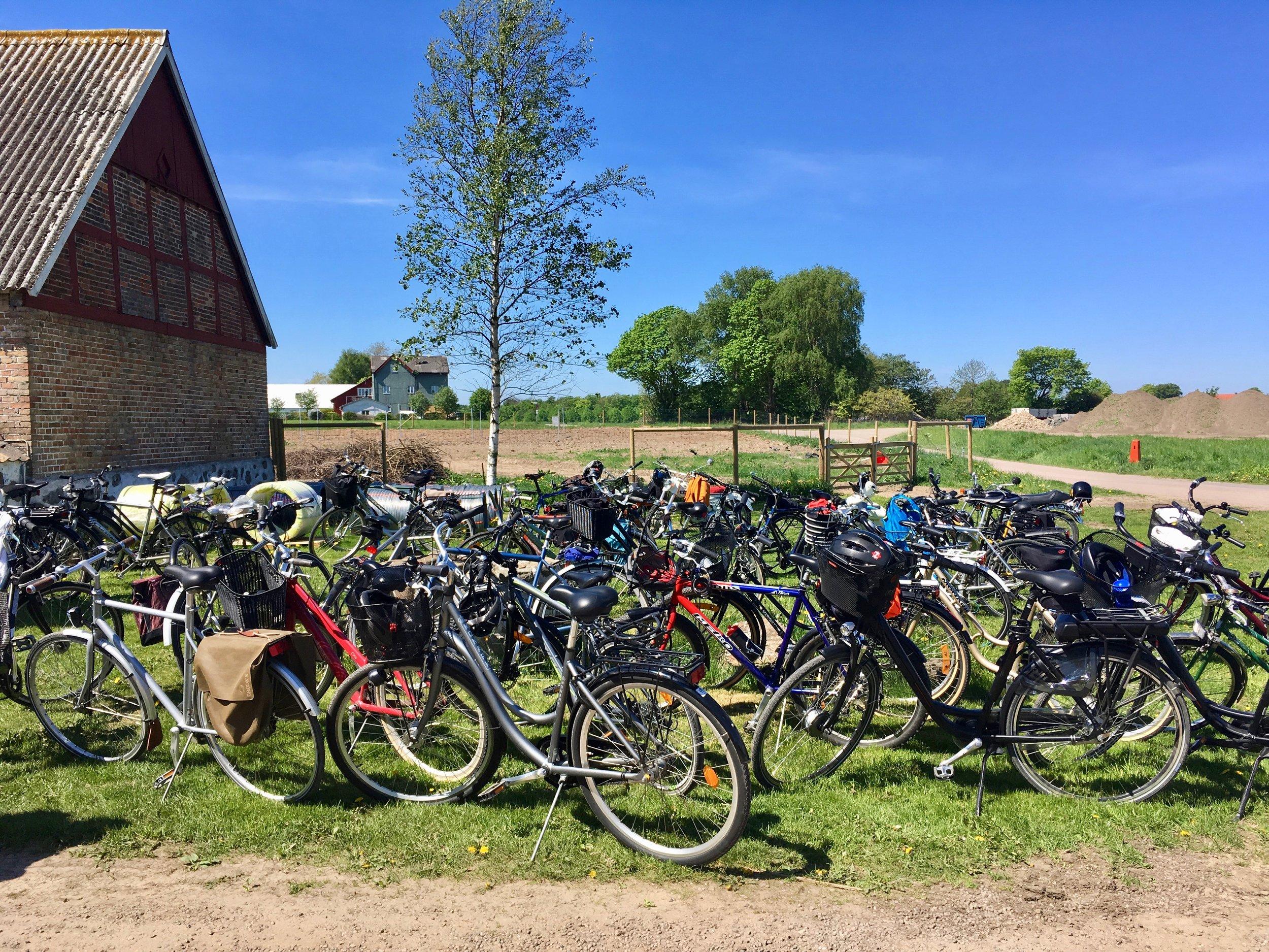 Kullaturen görs på cykel, med besök hos 6 mat- och dryckesproducenter