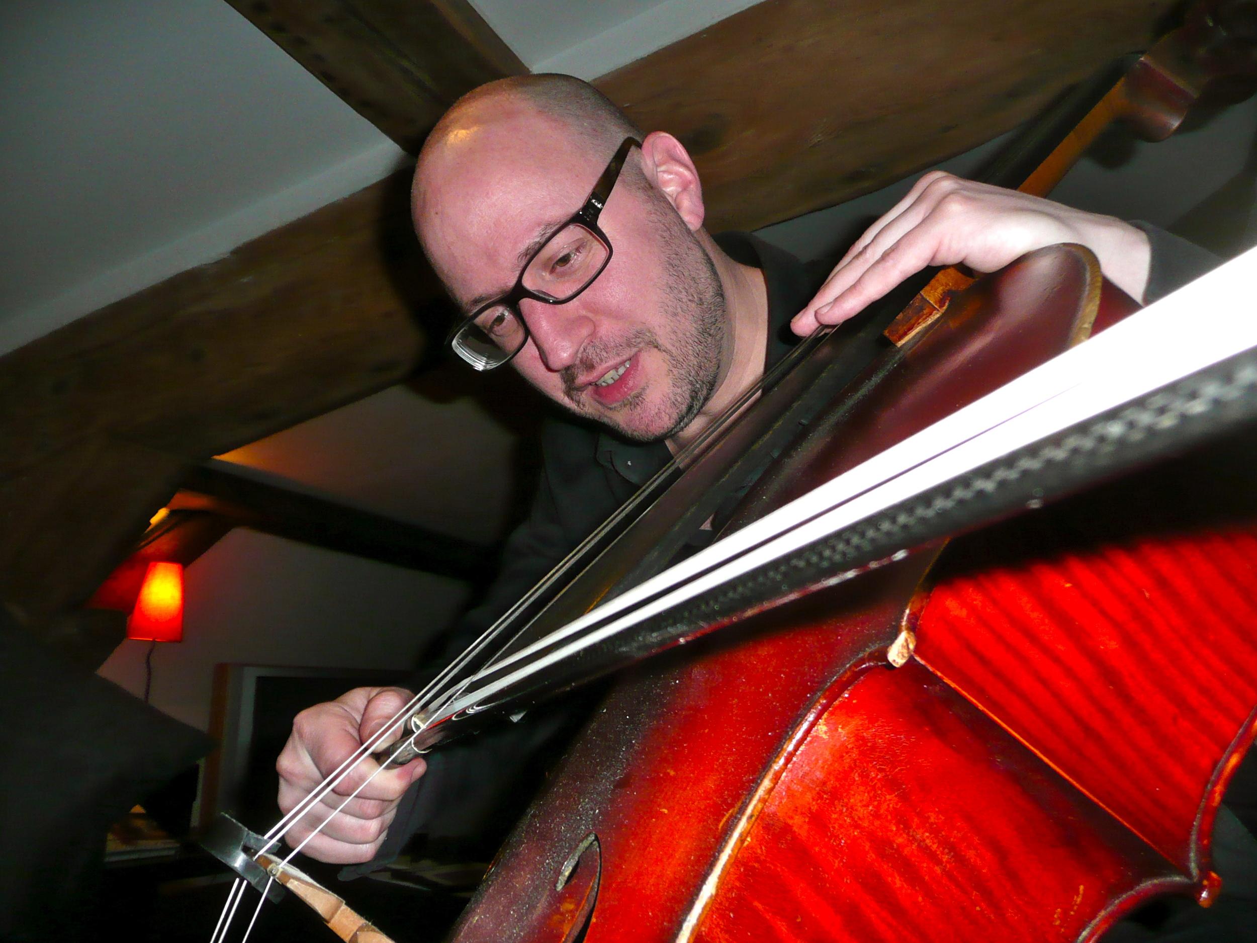 Raphael Cendo au violoncelle de Arne Deforce (Lyon 2012)