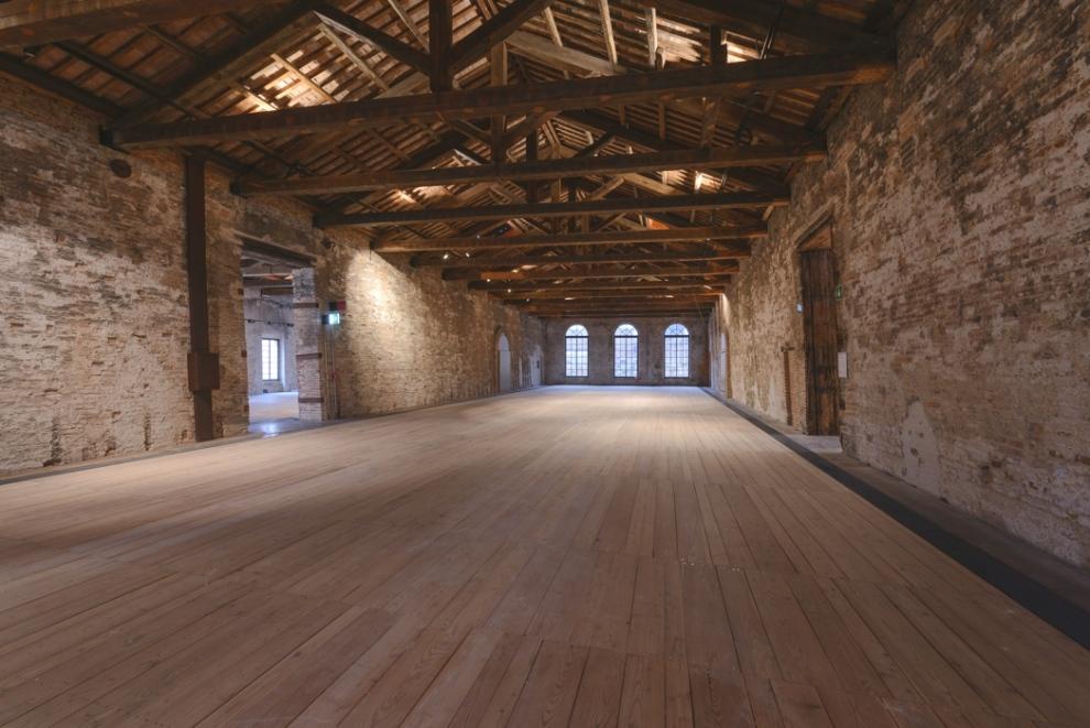 Venice Biennale Sala d'Armi