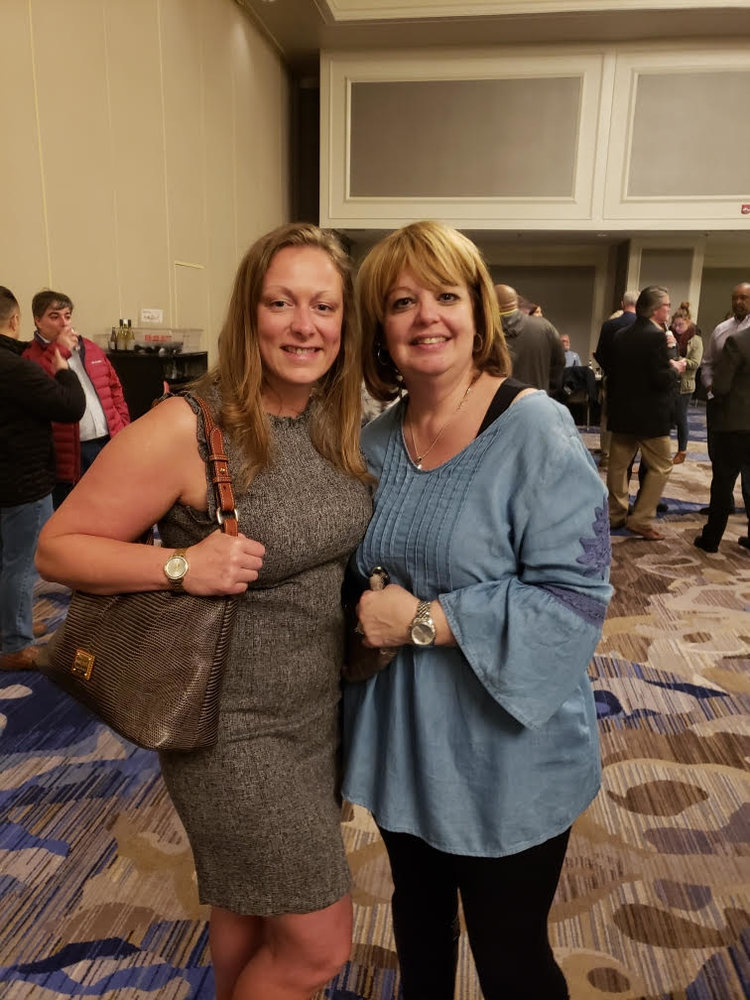 Our president, Denisha Goodman and immediate past president, Lisa Brennan representing us at the American Correctional Association's Winter Conference 2019 in New Orleans, La.