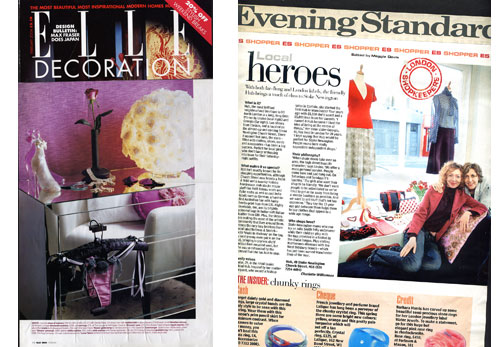 Elle Deco     Evening Standard
