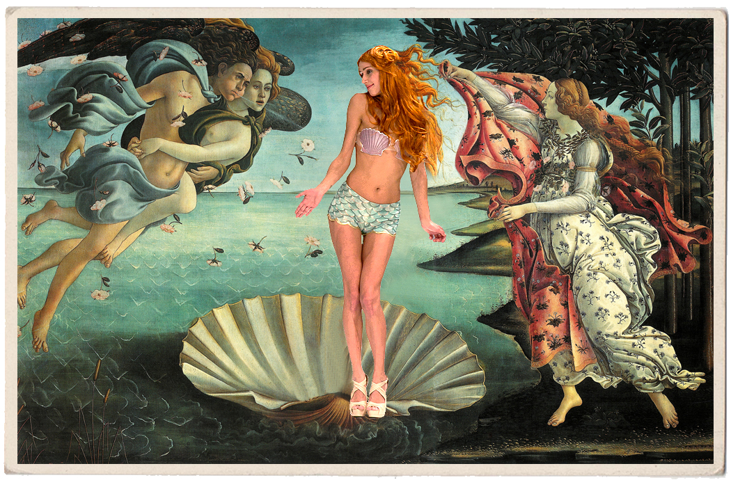 lovely picture by Sandro Boticelli