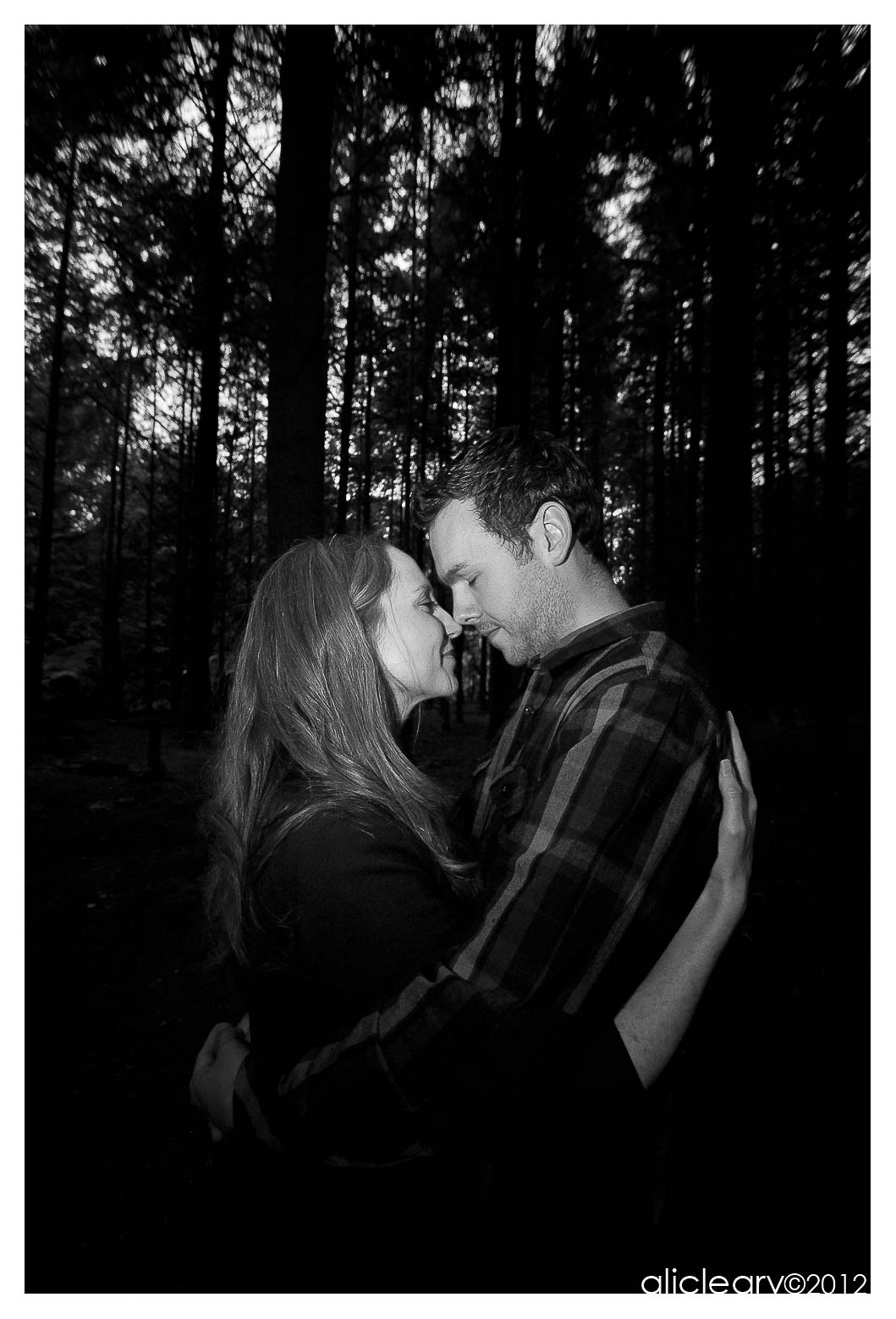 Engagement photo shoot Crammond, Scotland by ali cleary photography