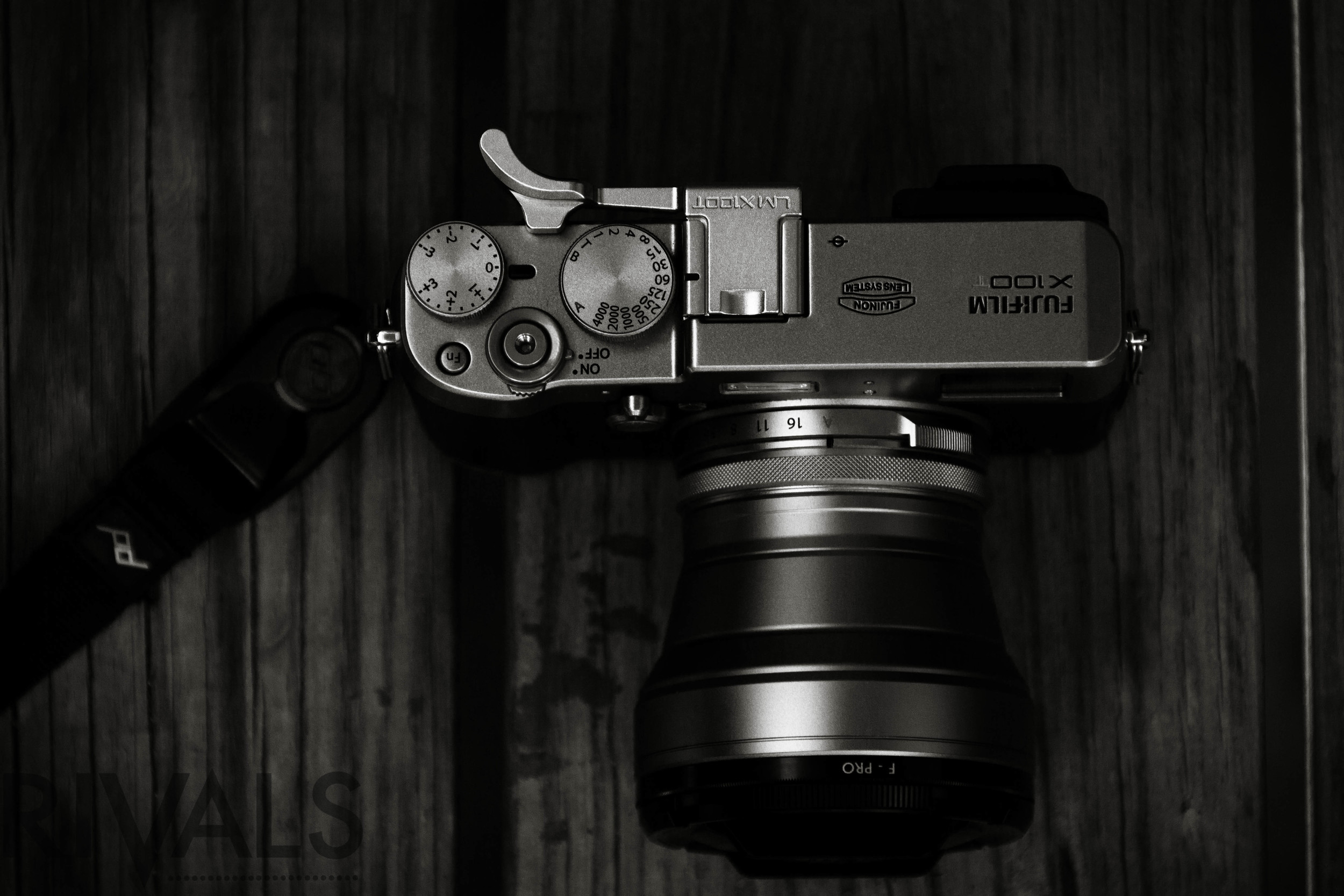 The  Lensmate Thumbrest  for the Fujifilm X100T shows it's difference in color.