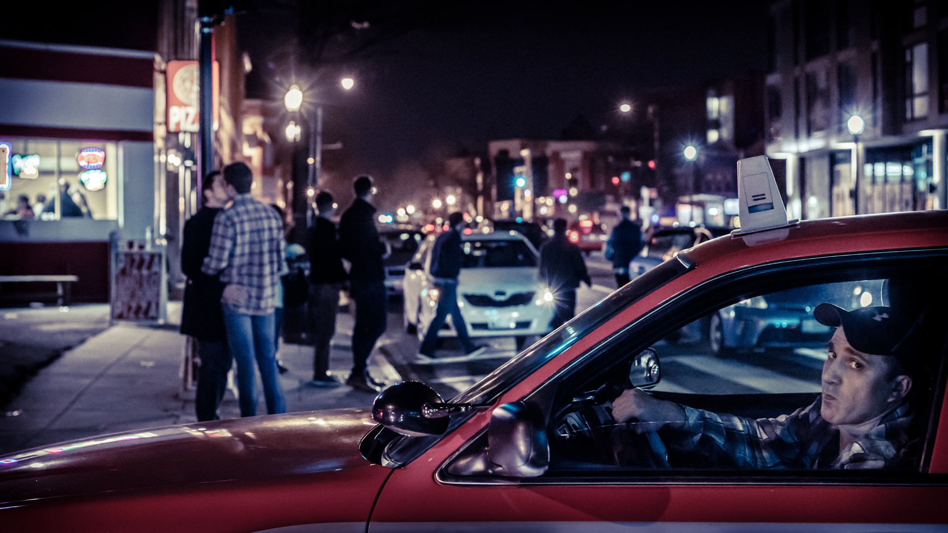 Late night pizza, dude-love, and taxi drivers |  Bang Photography