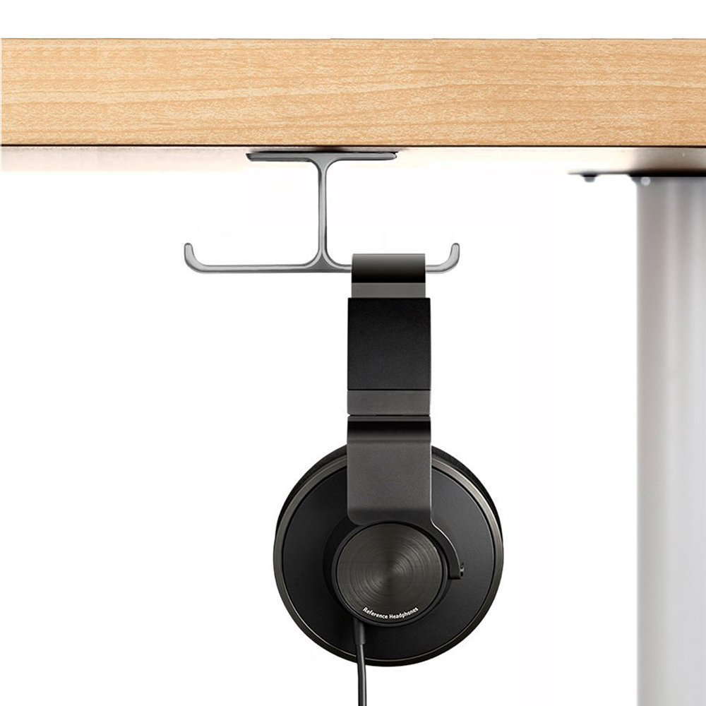Under Desk Headphone Mount
