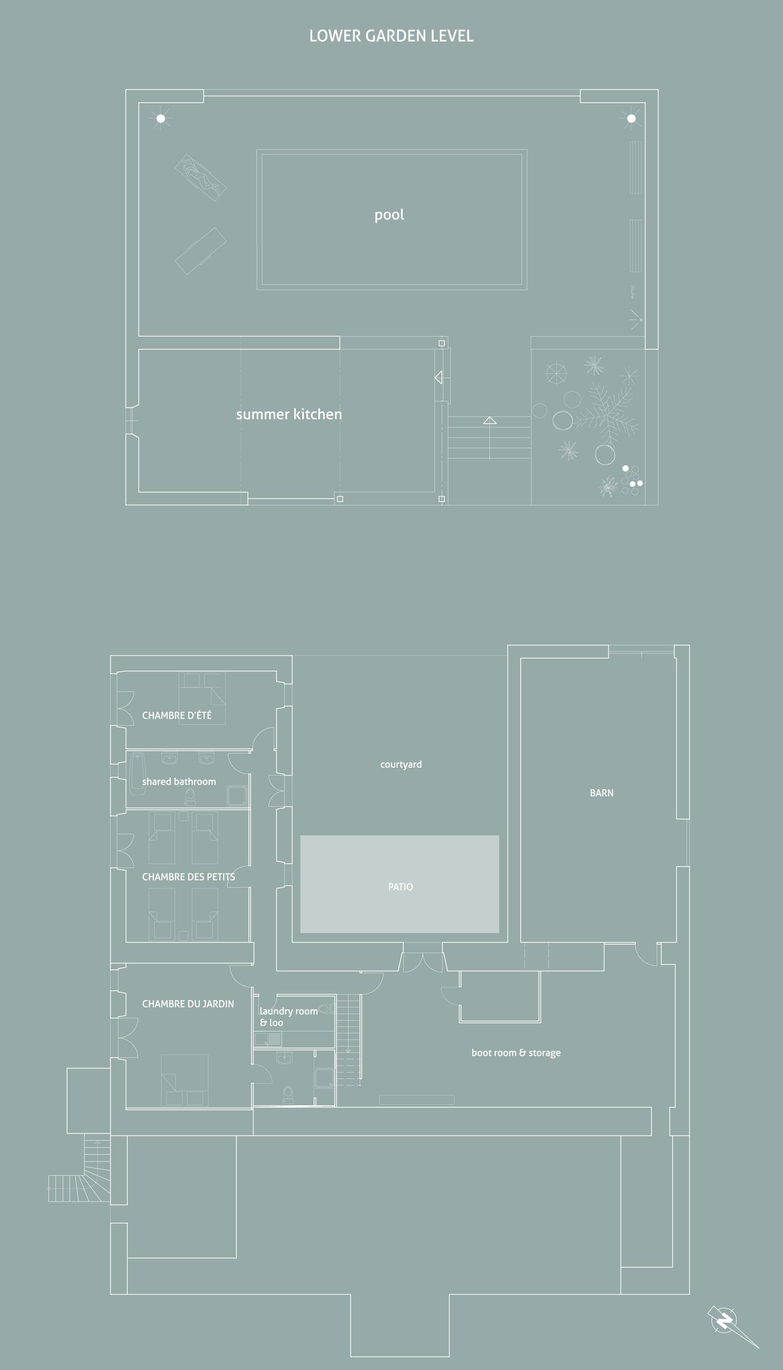Last lower level plan