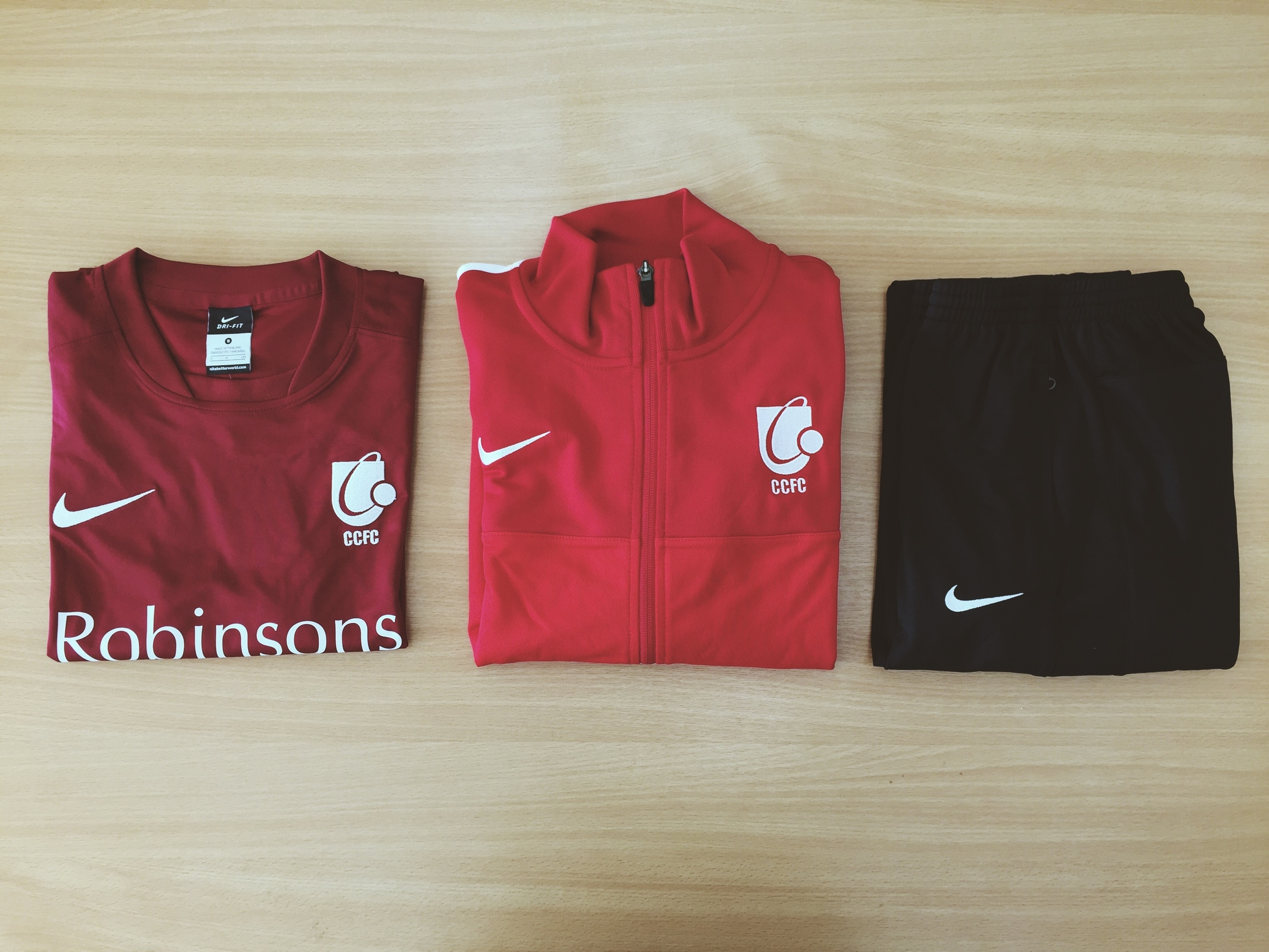 CCFC Nike Team Kit