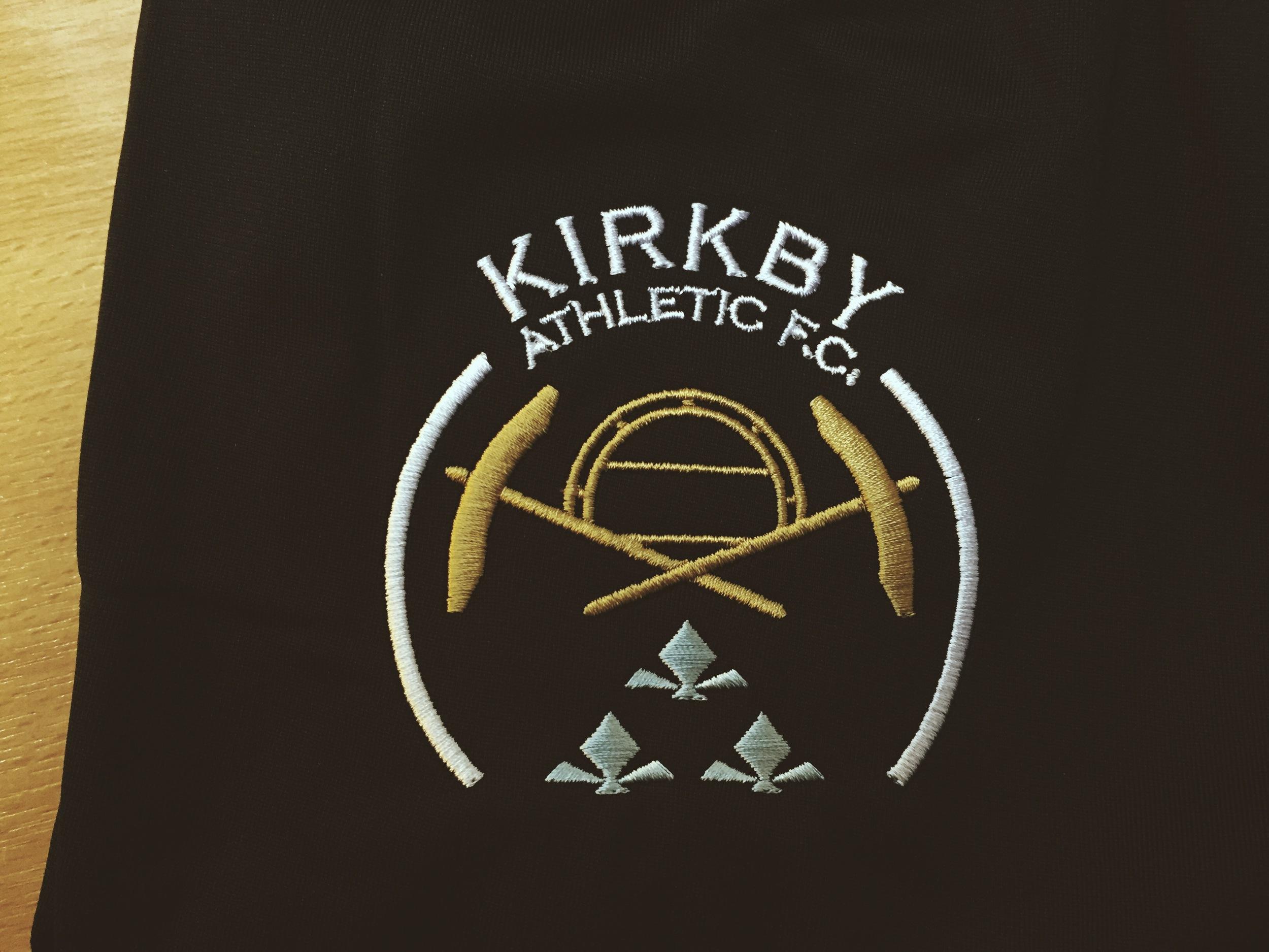 Kirkby Athletic FC Nike Training Kit