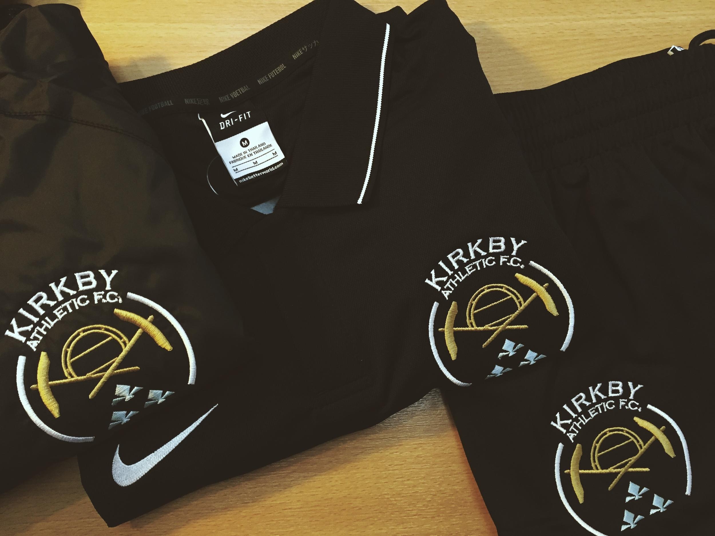 Kirkby Athletic Nike Training Kit