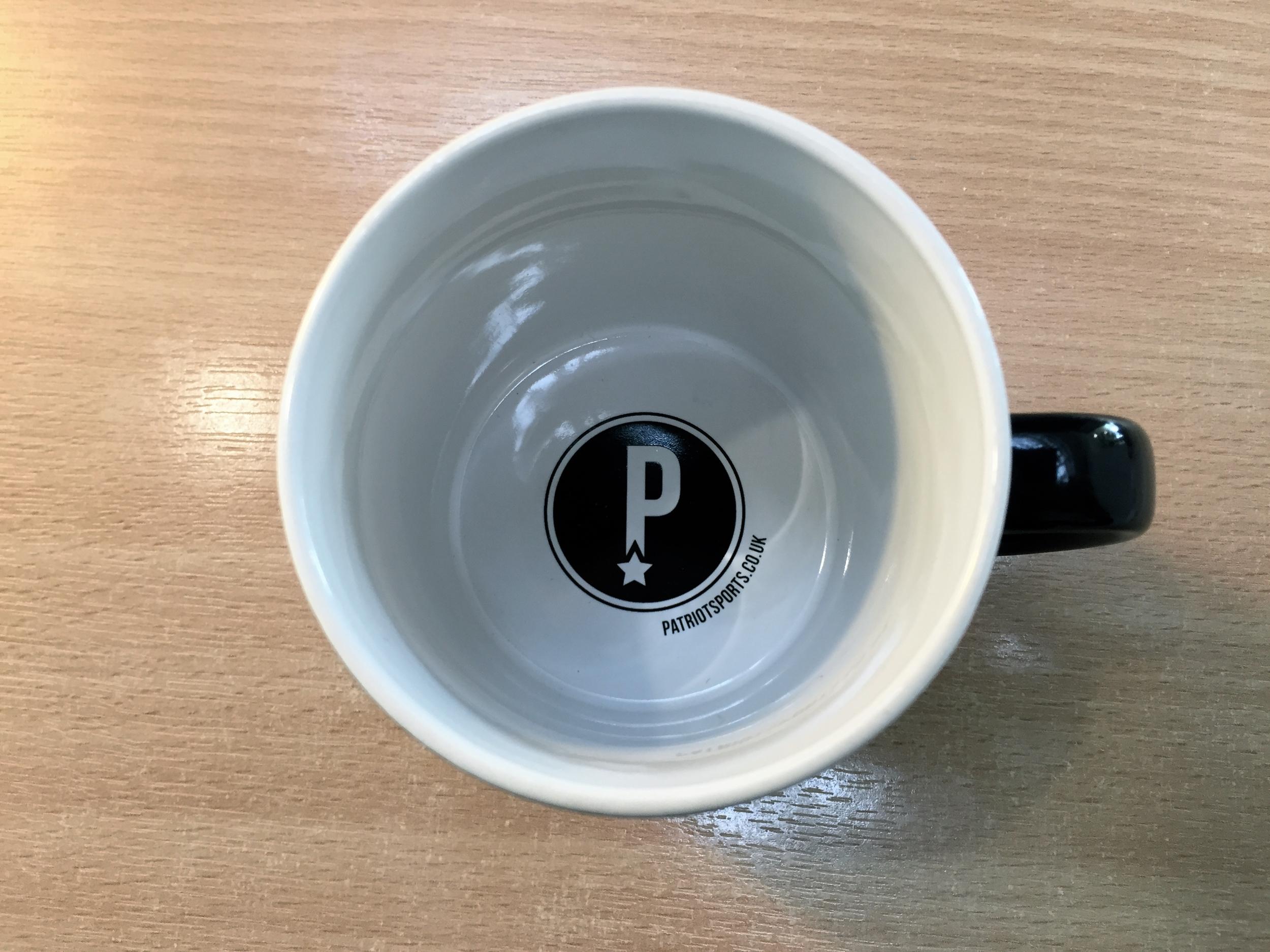 Team Patriot Coffee Mug (Inside)