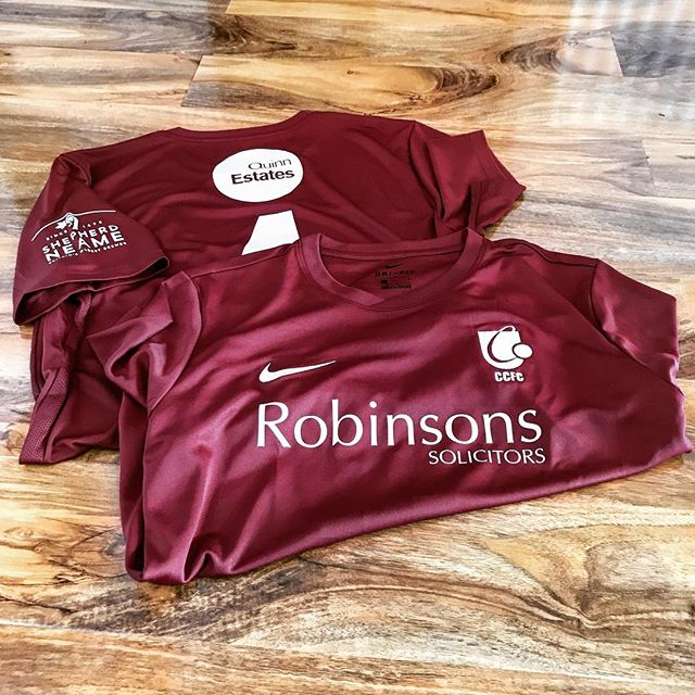Sneak peek of the brand new @canterbury_city_fc Jersey 2017/18 #CCFC #Football #TeamNike #NewKit #ShepherdNeame #QuinnEstates #RobinsonsSolicitors
