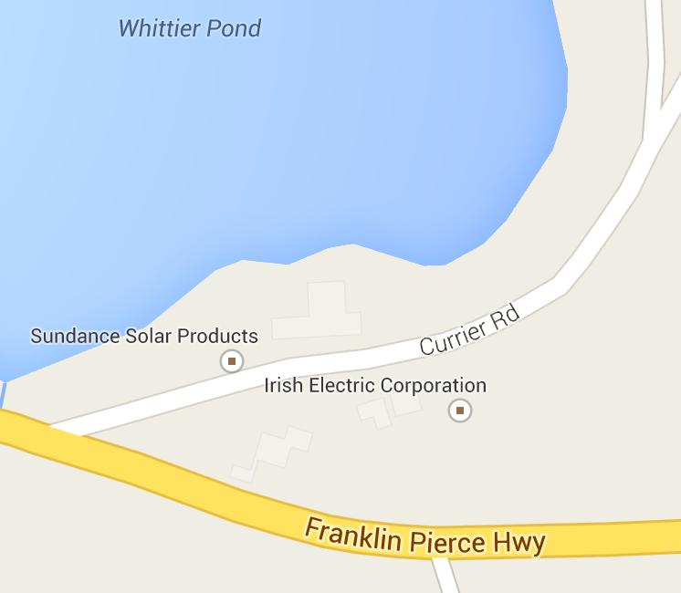 Irish Electric Corp.  659 Currier Rd. Hopkinton, NH 03229