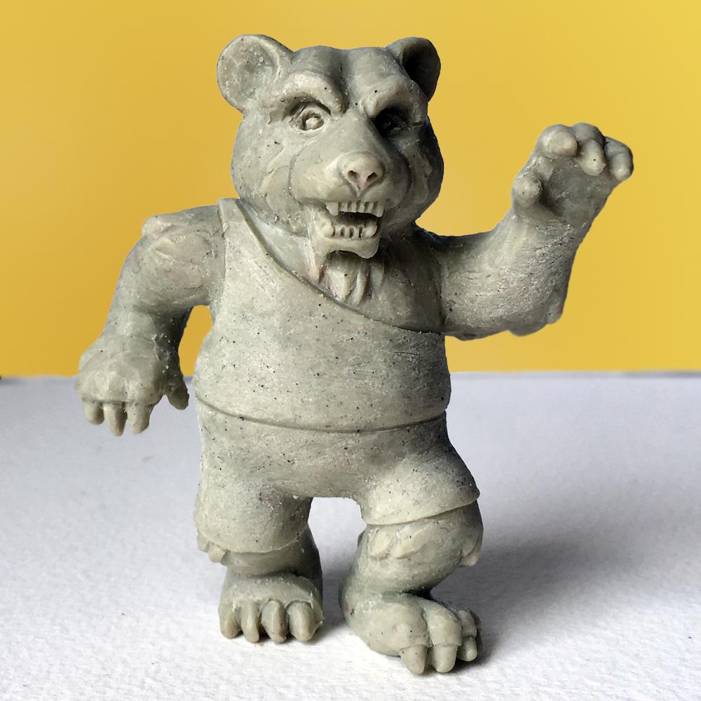 Ol' Grizzle Figurine