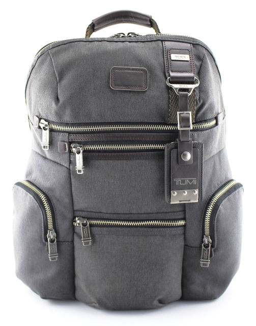 Used whenever a backpack is deemed necessary — often when traveling, or when carrying something particularly large.