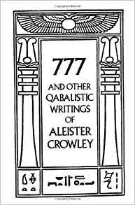 "777, by Alister Crowley  (a.k.a. the ""white"" book)"