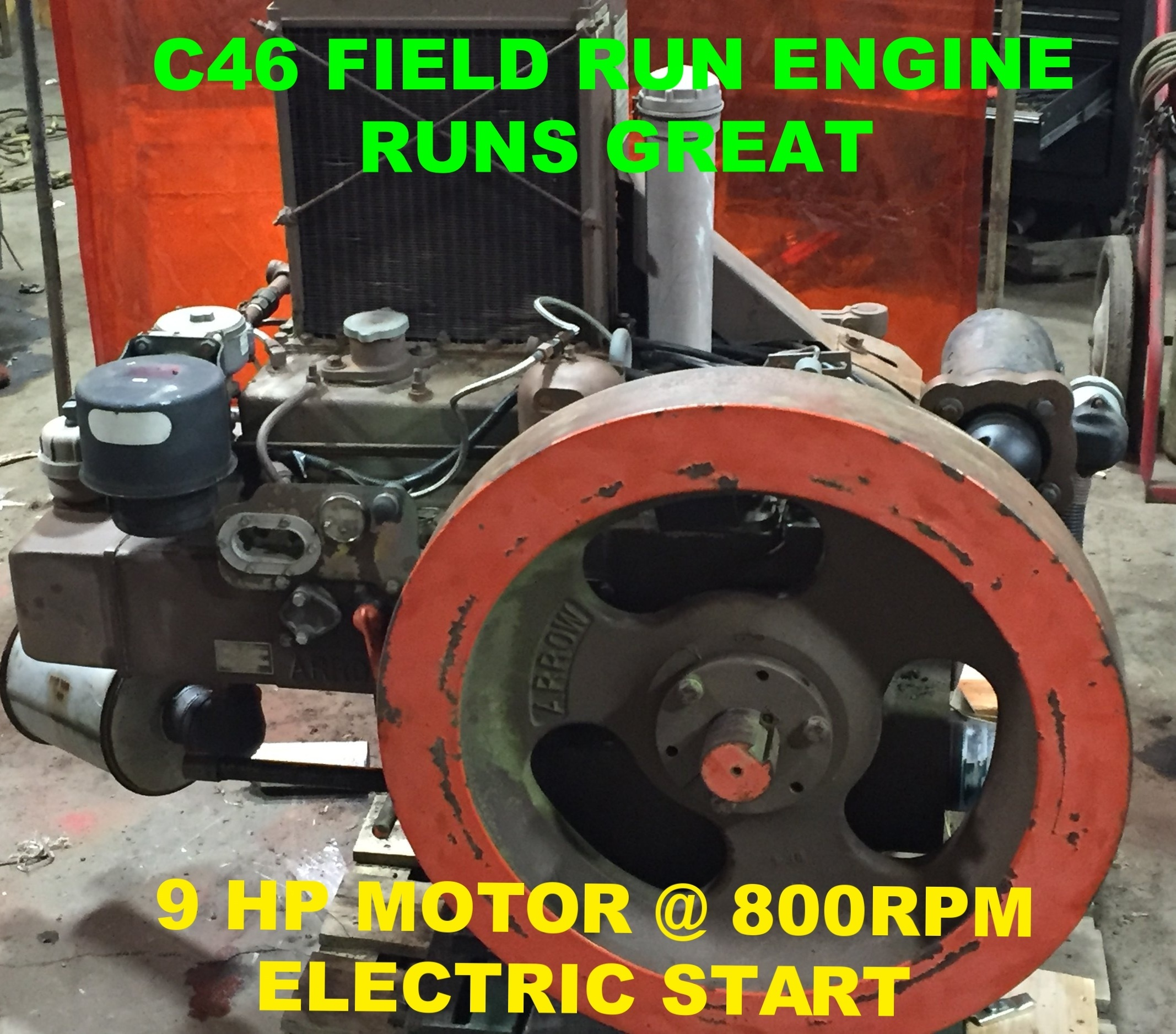 GREAT BUY - CALL OR EMAIL $CAN SEND VIDEO OF ENGINE RUNNINGONLY 2 LEFTTHESE ARE PRESSURIZED OIL SYSTEMMUCH LESS WEAR AND TEAR THAN YOUR OLDRER MODELSWET SLEEVESTWO PENDING REBUILD