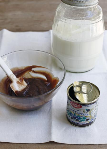 Homemade Yogurt with Chestnut Cream