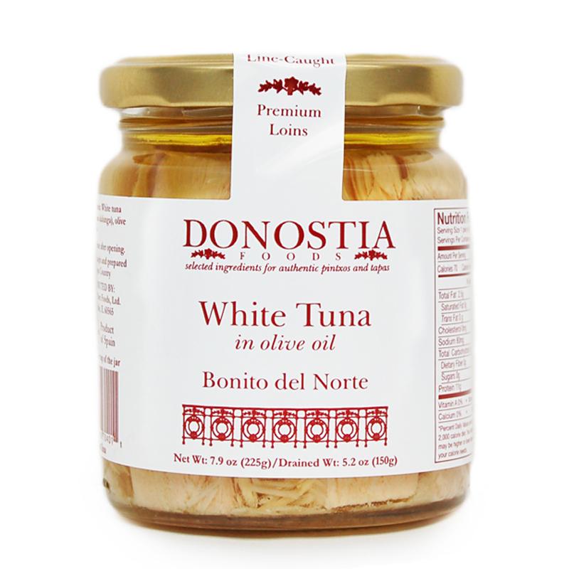 Donostia Foods Bonito del Norte Tuna