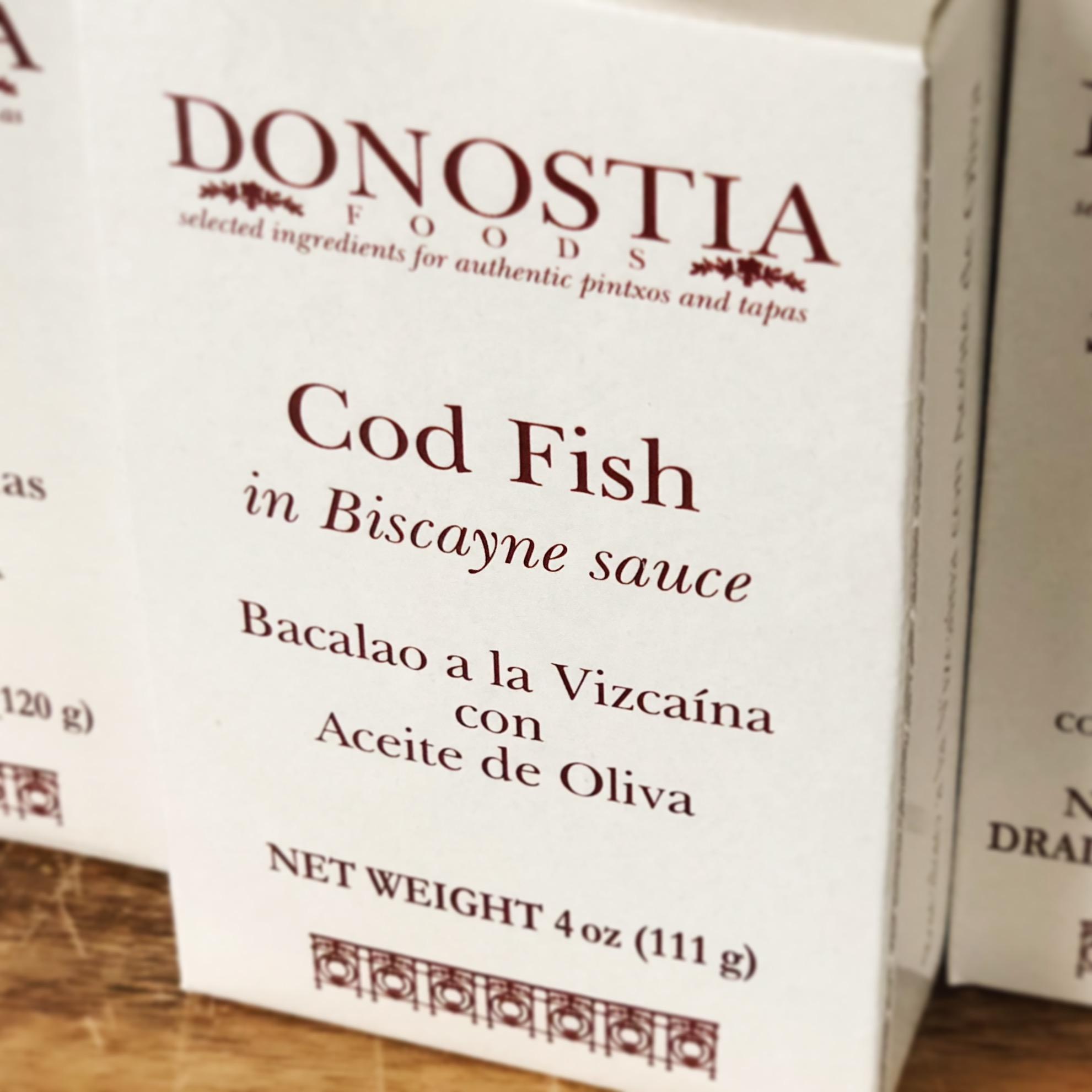 Cod Fish in Biscayne Sauce (Bacalao a la Vizcaíno)