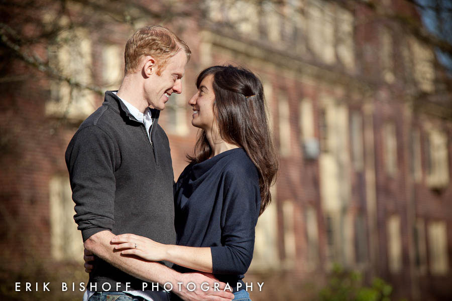 University of Oregon Engagement Photography