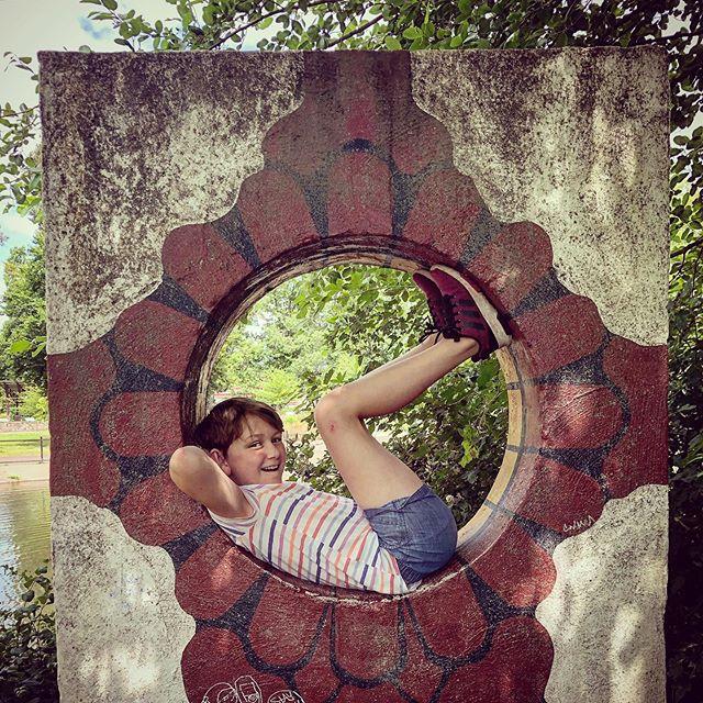 "Noemi ""chillin"" at Alton Baker Park. @altonbakerparkpics #altonbakerpark #eugeneoregon"