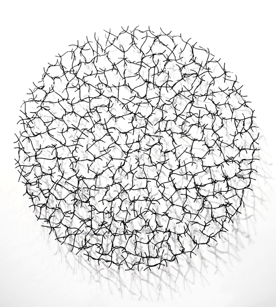 Copy of CHLOE DANCER, 2013, Steel with black, 60H x 60W x 6D