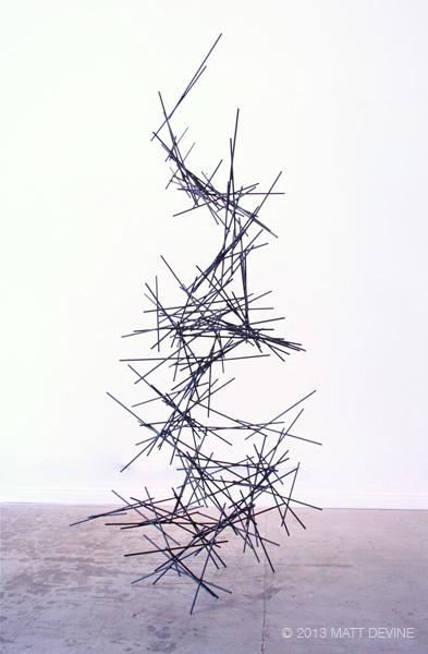 LA BREA #6, 2013, steel, 89Hx38Wx36D